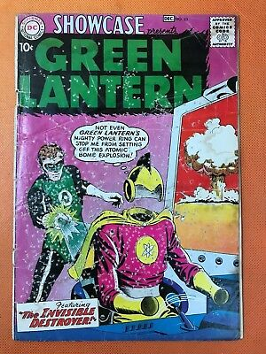 1959 DC Comics SHOWCASE #23 *Classic Cover 2nd Silver Age GREEN LANTERN * Solid