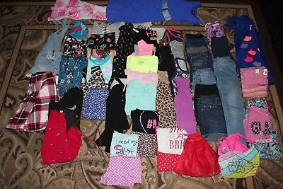 HUGE LOT GIRLS CLOTHING SIZE M 7/8 Justice, Crazy 8s ect. Great Condition
