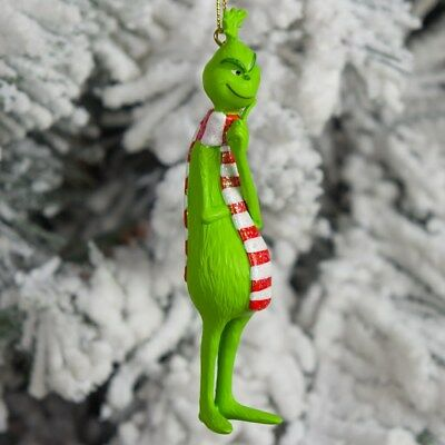 2018 Thinking Grinch With Scarf DR SEUSS   Ornament New