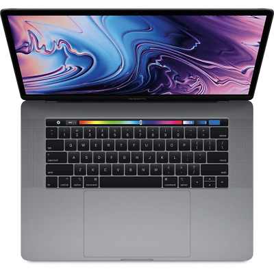 """Apple MacBook Pro 15"""" with Touch Bar 2.2GHz 6-Core i7 16GB 256GB - Space Grey"""