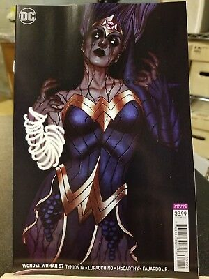 WONDER WOMAN #57    Stunning JENNY FRISON Variant     Witching Hour Part Four NM