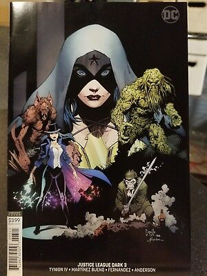 JUSTICE LEAGUE DARK #3   GREG CAPULLO Variant    DC Comics  NM