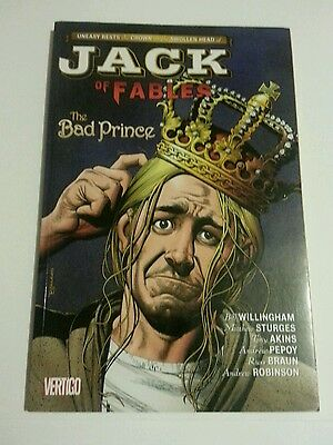 Jack of Fables Vol.3: The Bad Prince        -Bill Willingham-First Printing-2007