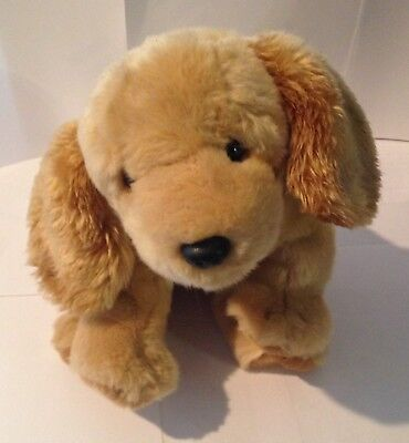 Golden Retriever - Plush Puppy - 10 Inches High - Very Soft And Cuddly