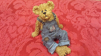 BOYDS  BEARS Bearstone Collection Opie Hucklebeary #2277925 - Simple Livin'