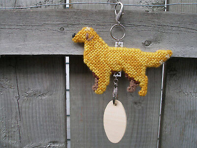Golden Retriever #1 dog crate tag or hang anywhere pet sign ornament needlepoint