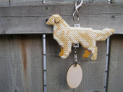 Golden Retriever #2 dog crate tag or hang anywhere handmade pet sign ornament