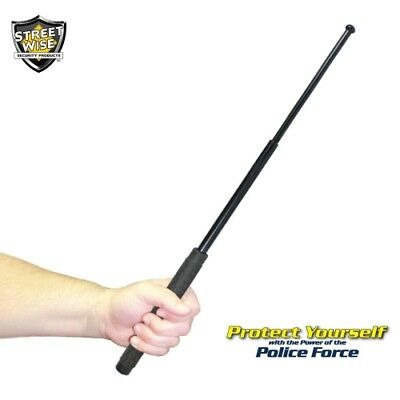 """31"""" Streetwise Police Force Heat Treated Expandable Steel Baton - Safety Device"""
