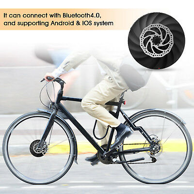 YUNZHILUN iMortor 26'' Electric Front Intelligence Bicycle Wheel kit Bluetooth