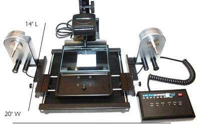 Micro-Image Capture 8M Microfilm Roll, AP Card and Fiche Scanner 20MP USB 3.0