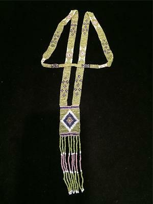Old Native American Beadwork-Lovely Glass Beads