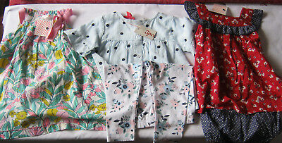 Girls Size 1 clothing bulk lot New Mixed items Sprout Jack and Milly summer baby