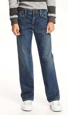 Old Navy Loose Fit Blue Jeans Size 8 Medium Wash