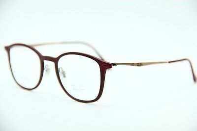 25ed78f46f RAY-BAN RB 7051 2077 Black New Authentic LightRay Eyeglasses 47mm w ...