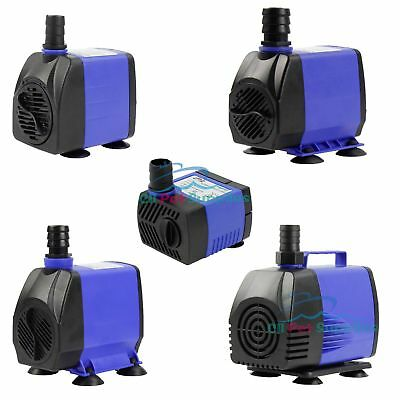 Submersible 90-1450 GPH Aquarium Fish Tank Water Pump