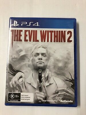 The Evil Within 2 PS4 Playstation 4 Game Brand New In Stock (Aus Seller)