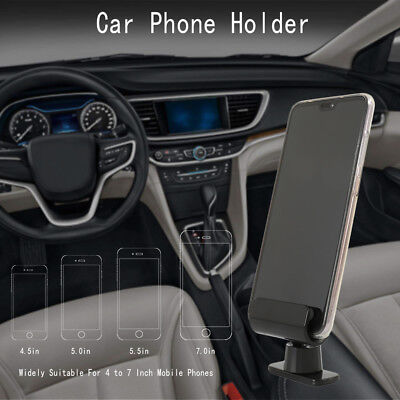 Interior Gravity Car Phone Holder 4 – 7 Inch Mounts Stand For iPhone Samsung CA