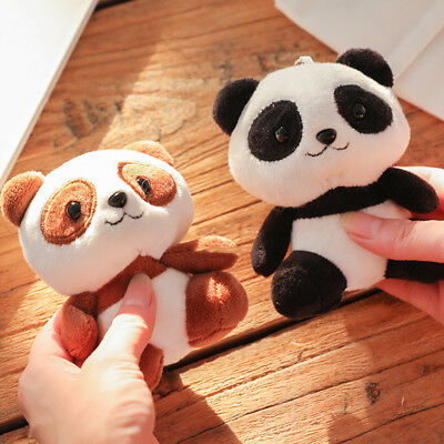 Panda Bear Standing Stuffed Animal Plush Soft Toys for Baby 10cm Cute Gifts