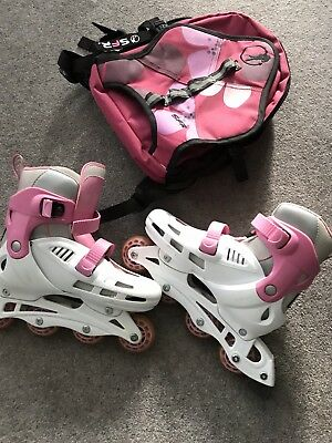 Roller Skates SFR CYCLONE Inline Size 3-6 with Accessories