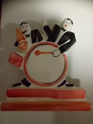 Art Deco Jazz Players Figurine Made In England