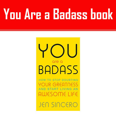 You are a Badass:How to Stop Doubting Your Greatness and Start Living NEW Book