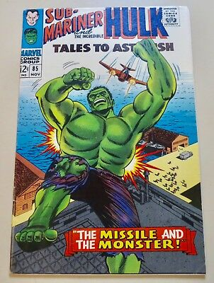 18-C1580: Tales to Astonish # 85, 1966, VF- 7.5! See Promo!