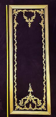 Decorative French Antique Style Louis Xv Gilt Or White Wall Panelling Panel