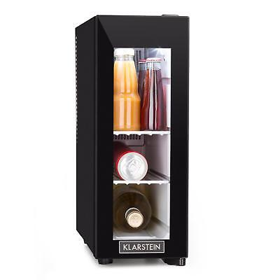Wine Fridge cooler Mini Refrigerator Compact Counter Top Bar Shop Home Drink 13L
