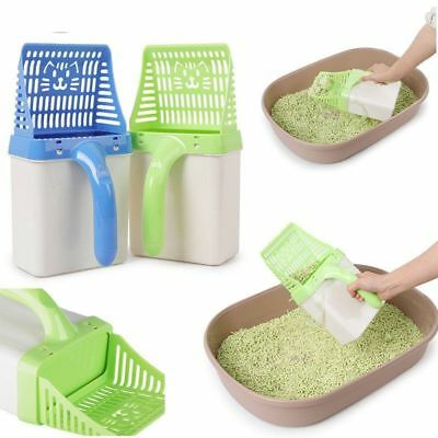 Cat Litter Scoop Plastic Waste Scooper Poop Pet Sand Shovel Cleaning Tool TY