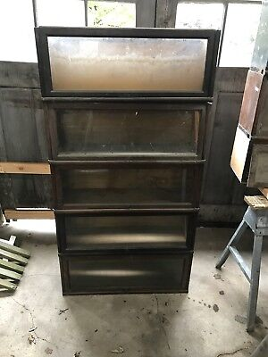 11 Globe-Wernicke/Macey  ( Barrister Type) Bookcase Sections. Oil City, PA
