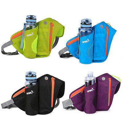 Sport Running Jogging Cycling Water Bottle Holder Belt Bag Waist Pack Pouch