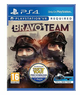 Bravo Team Standard Edition VR (PS4) Brand New & Sealed UK PAL Quick Dispatch