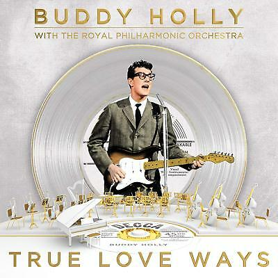 Buddy Holly Philharmonic Orchestra - True Love Ways [CD] Sent Sameday*