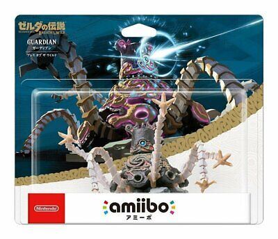 Limited offer Nintendo Amiibo Guardian The Legend of Zelda Breath of Wild Switch