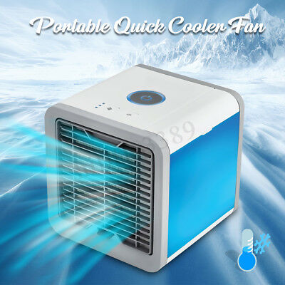 Portable Desk Fan Air Cooler Evaporative Conditioner Cool Cooling Humidifier AU