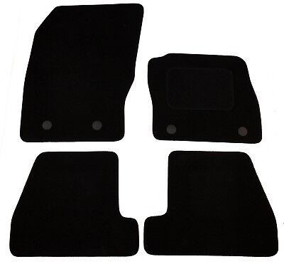 FORD FOCUS March 2015 onwards Tailored Black Car Mats