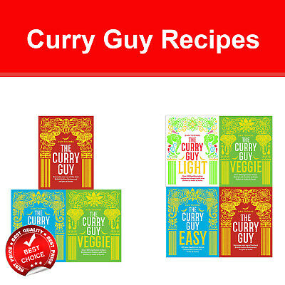 The Curry Guy collection 3 books set Slow Cooker Spice-Guy Curry Diet Recipe NEW