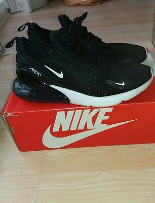 sports shoes 932ac 798af Nike air max 270 mens black authentic trainers..uk size