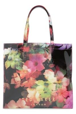 09035f845e7c0 NWT TED BAKER London LARGE CASCADING FLORAL ICON Tote Bag -  51.92 ...
