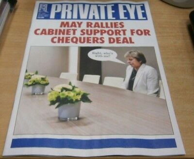Private Eye magazine #1483 16-29 NOV 2018 May Rallies Cabinet Support for Deal
