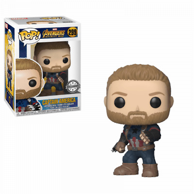 POP! Marvel - Avengers Infinity War #299 Captain America with Shields