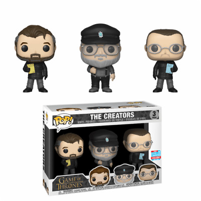 Funko POP! Game of Thrones - The Creators 3-Pack 2018 Fall Convention Exclusive