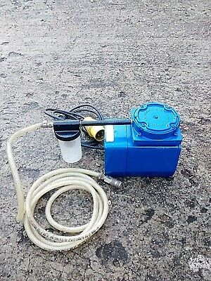 Gast Oiless Vacuum Pump, For Diamond Drillers Vacuum Holding Down Bases