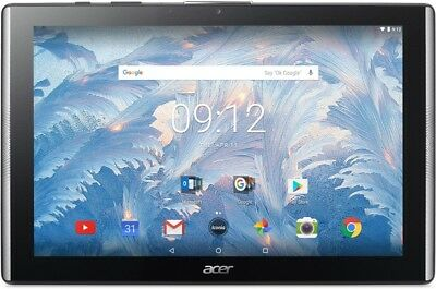 "Acer Iconia One 10 B3-A40 schwarz 10,1"" Tablet Android 7.0 2GB RAM WLAN BT 16GB"