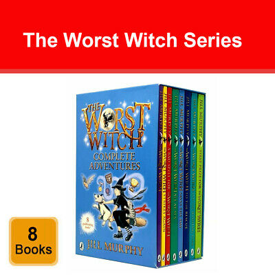 Worst Witch Series Jill Murphy 6 Books Collection Set Fun with The Worst Witch