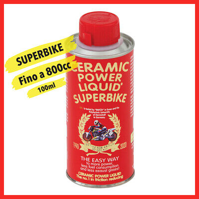 Ceramic Power Liquid Superbike Trattamento Motore Per Moto Sportive 100Ml