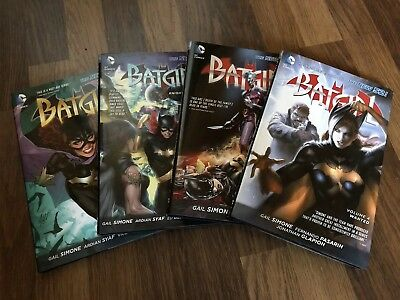 Batgirl Vol 1 - Vol 4 Hardcovers New 52