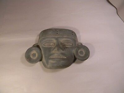 South American? Mexican? Clay Wall Mask