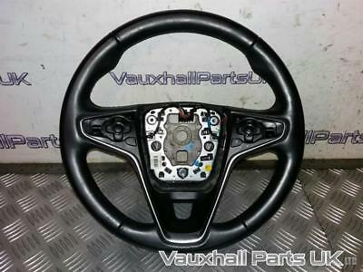 2014 Vauxhall Insignia A Mk1 Design Leather Steering Wheel 23191544 59237