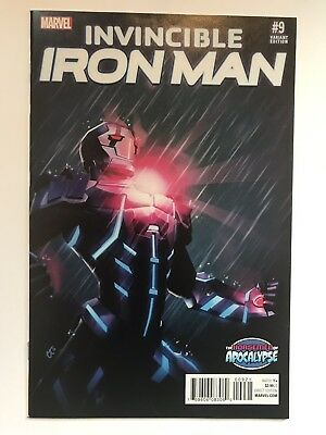 Invincible Iron Man 9 (2015) Variant - First Riri Williams! 1st Appearance